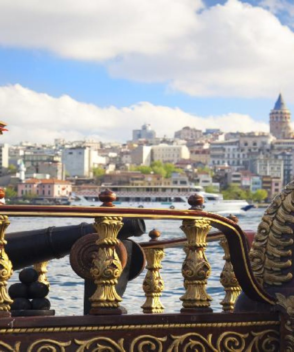 Galata Tower and Golden Horn in Istanbul